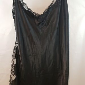 Other - Plus size black sexy lingerie gown nightwear